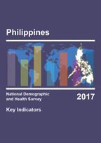 Cover of Philippines: DHS 2017 - Key Indicators Report (English)