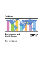 Cover of Tajikistan: DHS 2017 - Key Indicators Report (English, Russian)