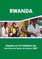 Cover of Rwanda SPA, 2007 - Final Report (French)