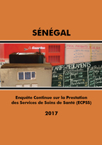 Cover of Senegal SPA, 2017 - Continuous Final Report (French)