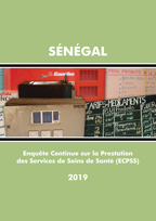 Cover of Senegal SPA, 2019 - Final Report (French)