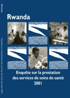 Cover of Rwanda MCH SPA, 2001 - Final Report (French)