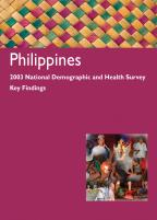 Cover of Philippines DHS, 2003 - Key Findings (English)