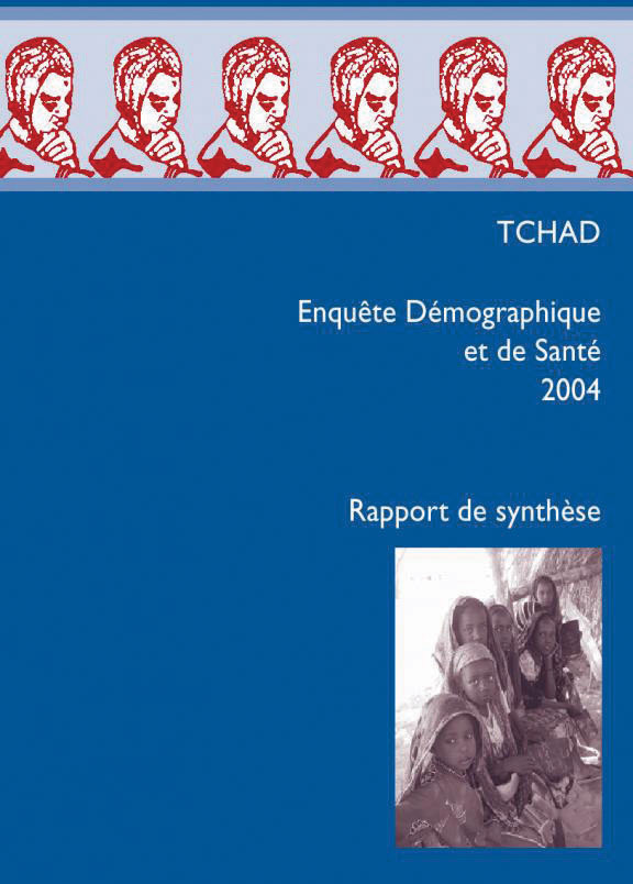 Cover of Chad DHS, 2004 - Summary Report (French)