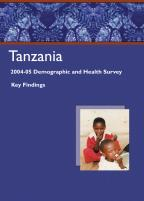 Cover of Tanzania DHS, 2004-05 - Key Findings (English)