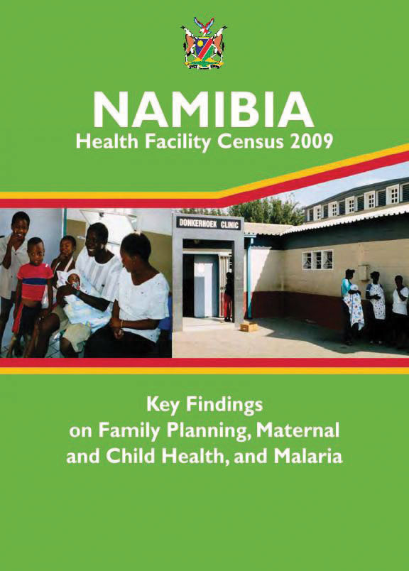 Cover of Namibia SPA, 2009 - Key Findings on FP and MCH (English)