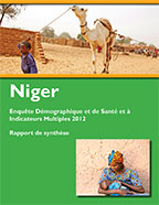 Cover of Niger DHS, 2012 - Key Findings (French)