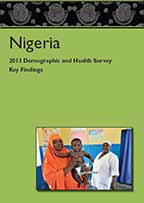 Cover of Nigeria DHS, 2013 - Key Findings (English)