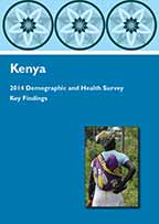 Cover of Kenya DHS, 2014 - Key Findings (English)