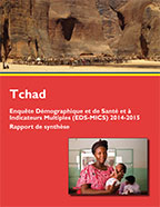 Cover of Chad DHS, 2014-15 - Key Findings (French)