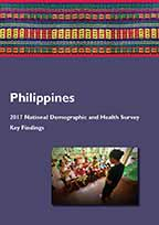 Cover of Philippines DHS, 2017 - Key Findings (English)