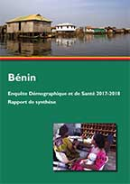 Cover of Benin DHS, 2017-18 - Key Findings (French)