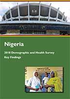 Cover of Nigeria DHS, 2018 - Summary Report (English)