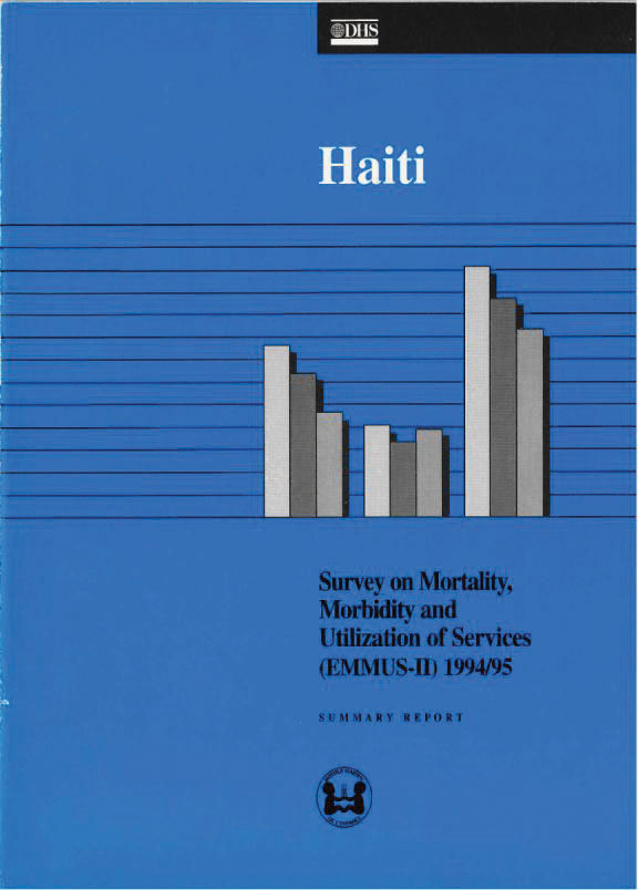 Cover of Haiti DHS, 1994-95 - Summary Report (English, French)