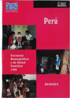 Cover of Peru DHS, 1996 - Key Findings (Spanish)
