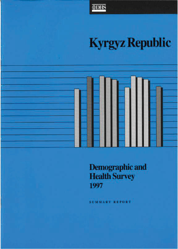 Cover of Kyrgyz Republic DHS, 1997 - Summary Report (English)