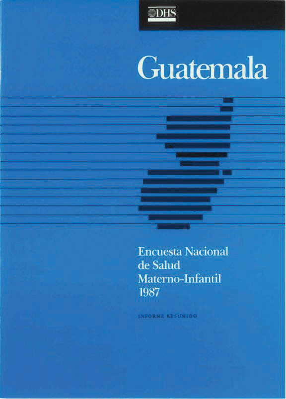 Cover of Guatemala DHS, 1987 - Summary Report (Spanish)