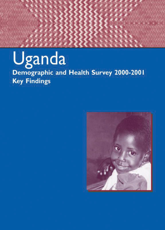 Cover of Uganda DHS, 2000-01 - Summary Report (English)