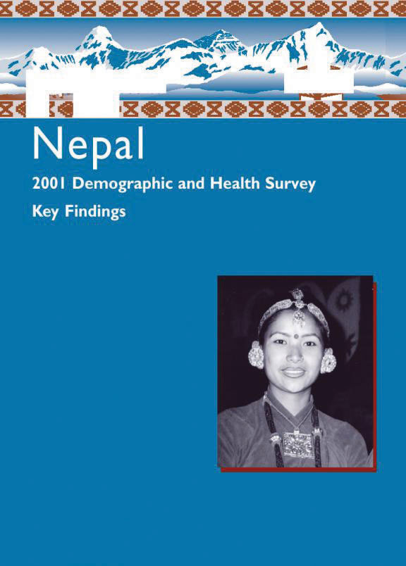 Cover of Nepal DHS, 2001 - Summary Report (English)