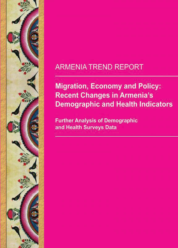 Cover of Migration, Economy and Policy: Recent Changes in Armenia's Demographic and Health Indicators (English)