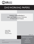 Cover of Initiation of Breastfeeding in Low- and Middle-Income Countries: A Time-to-Event Analysis (English)