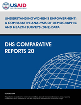 Understanding Women's Empowerment: A Comparative Analysis of Demographic and Health Surveys (DHS) Data (English)