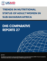 Trends in Nutritional Status of Adult Women in Sub-Saharan Africa (English)