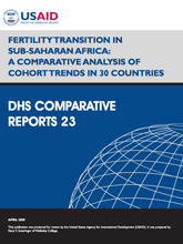 Comparative Report 23 - Fertility Transition in Sub-Saharan Africa: A Comparative Analysis of Cohort Trends in 30 Countries
